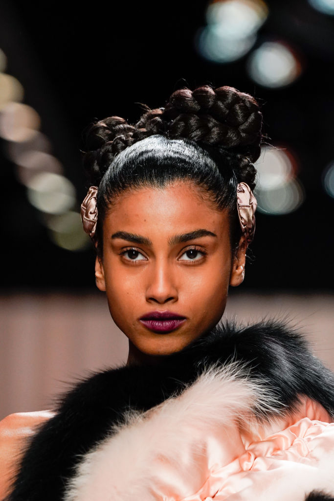 milan fashion week beauty trends