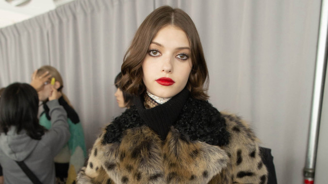 The Best Beauty Trend of NYFW: Juicy Red Lips