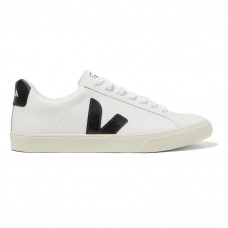 veja net sustain esplar rubber trimmed leather sneakers