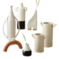 west elm shape studies vases