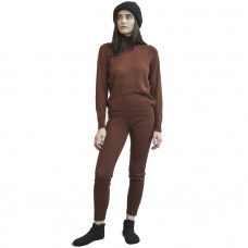 wol hide layering rib legging currant