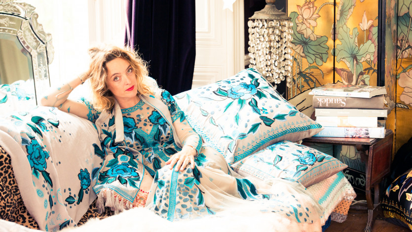 Inside Alice Temperley's Boho-Meets-Glam Closet