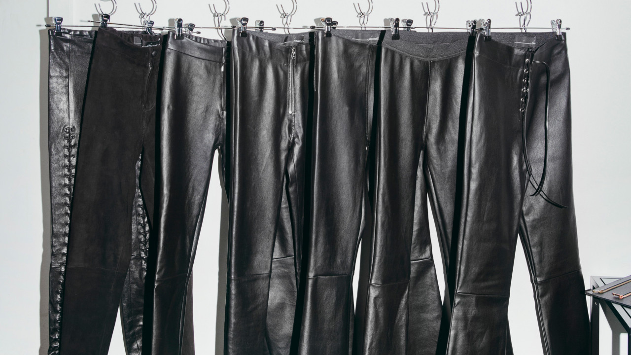 What It's Like to Get Custom Leather Pants
