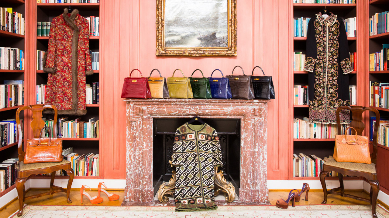 A Closet So Luxurious It Will Go Down in Coveteur History