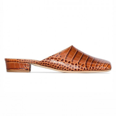 awake mode clio 22 crocodile effect mules