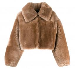 Teddy Bomber Jacket by Blancha