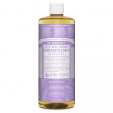 dr bronners 32 oz 18 in 1 hemp pure castile liquid soap in lavender