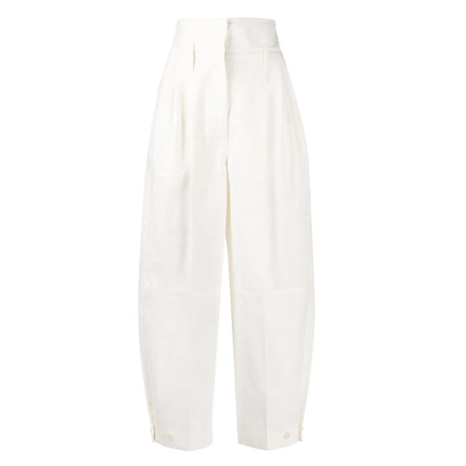 givenchy high waisted ballon trousers