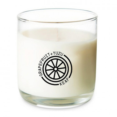keap grapefruit and yuzu candle