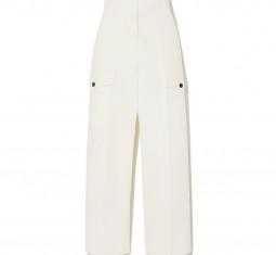 Cropped Cotton Straight-Leg Pants by LVIR