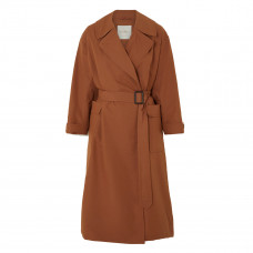 max mara the cube cotton and silk blend trench coat
