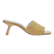 miista gabriella parmesan yellow leather mules