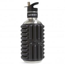 motbot black foam roller water bottle big bertha 40 oz