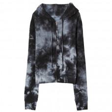 nili lotan callie zip up hoodie