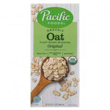 pacific foods organic oat non dairy beverage