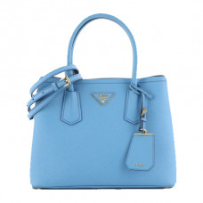 prada cuir double tote bag