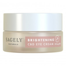 sagely naturals brightening cbd eye cream
