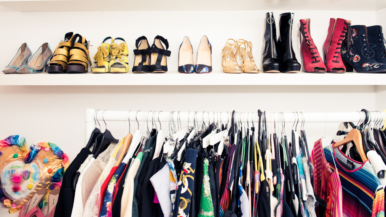 Lulu Kennedy's Closet Is an Ode to Quirky British Designers