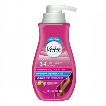 veet hair removal cream veet silk and fresh technology legs and body gel cream hair remover sensitive formula with aloe vera and vitamin e