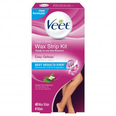 veet ready to use wax strips and wipes
