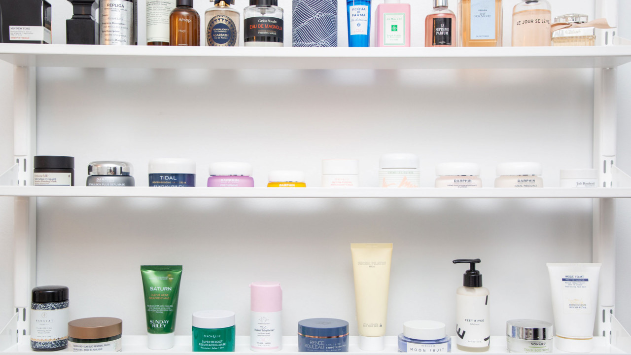 How Beauty Editors Organize *All* Those Products