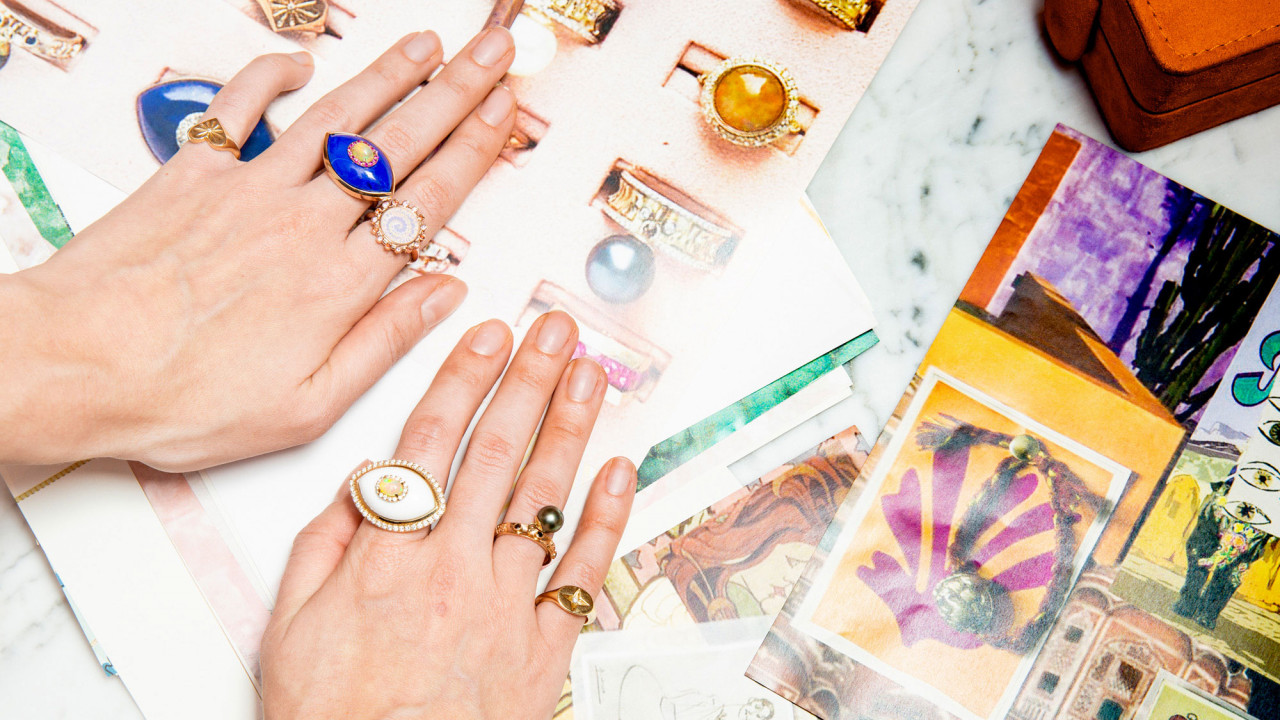 Shop 9 Pieces by Our Favorite Eclectic Jewelry Designer