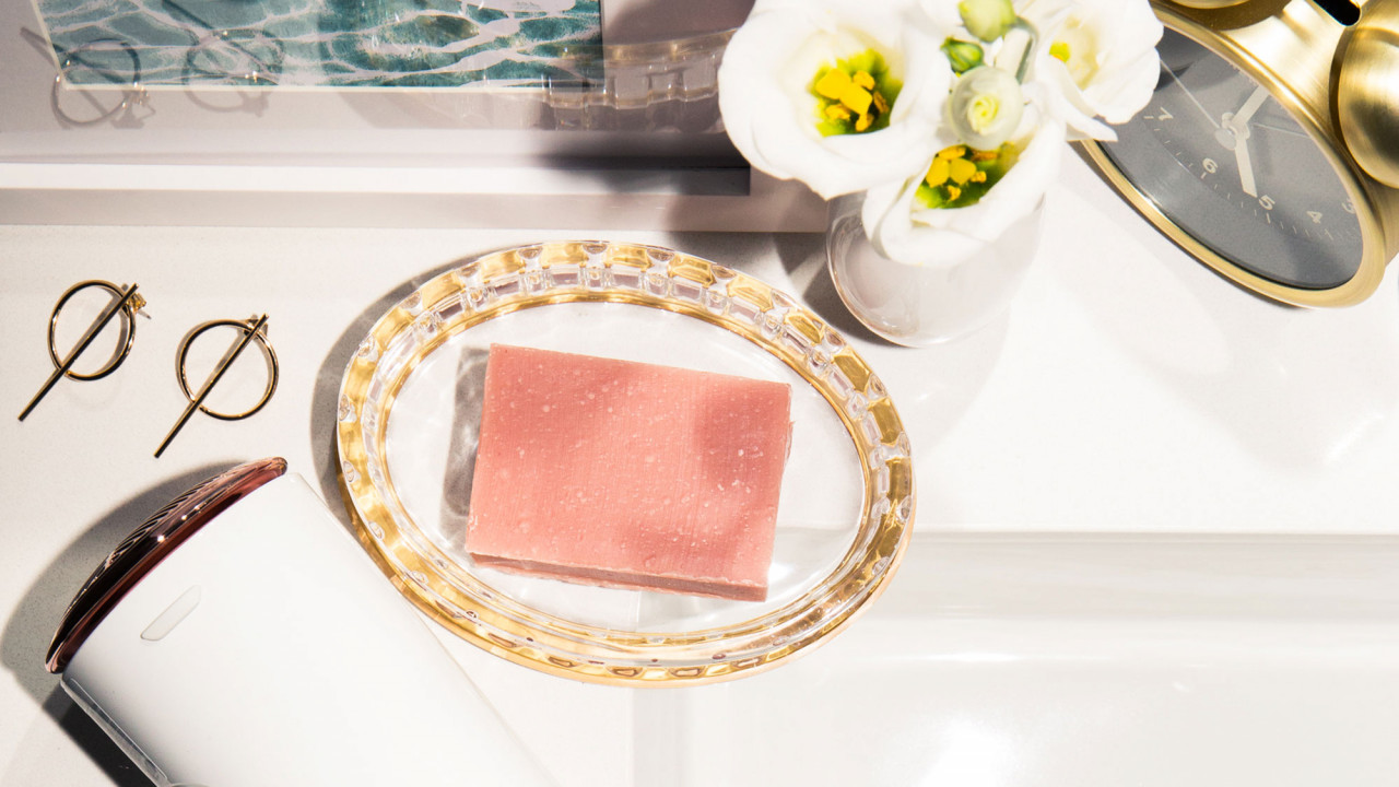 pretty bar soap