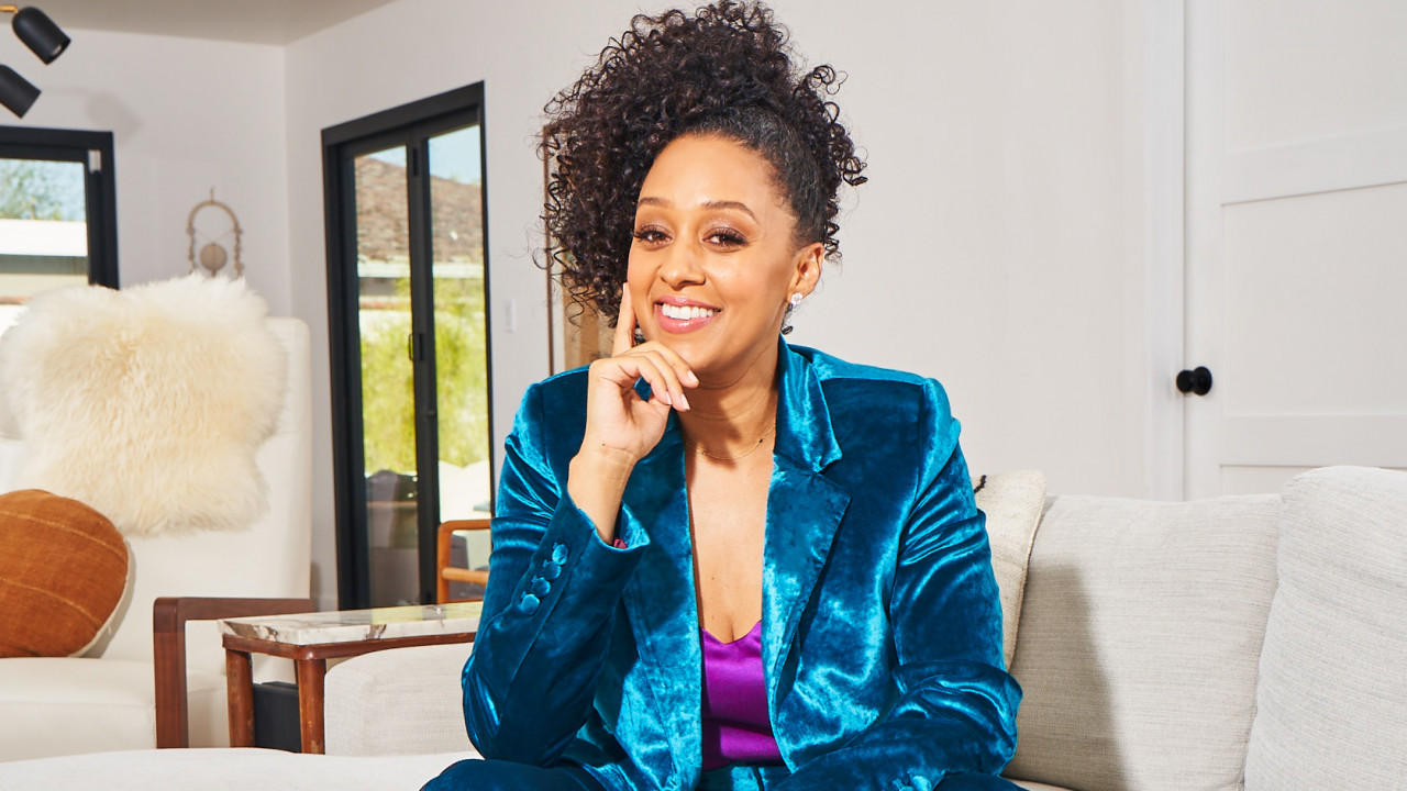 Tia Mowry on TikTok, Somersaults in the Pool, and How She's Managing to #WFH