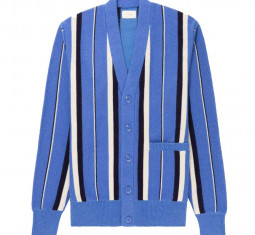 Striped Mohair Cardigan by Aimé Leon Dore