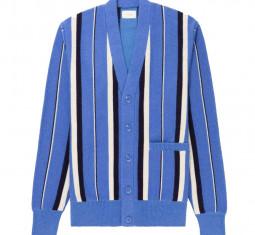 Striped Mohair Cardigan by Aimé Leon Dore