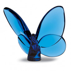 baccarat lucky butterfly sapphire
