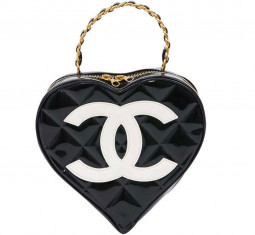 Vintage Heart Bag by CHANEL