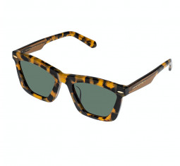 Alexandria Crazy Tort Sunglasses by Karen Walker