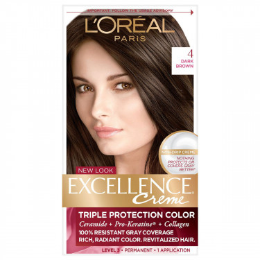 loreal paris excellence triple protection permanent hair color