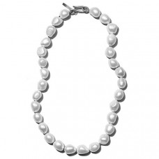 sophie buhai simple baroque pearl collar
