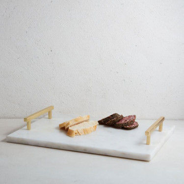 west elm marble and brass cheese board