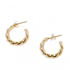 wold circus sadie hoops in gold