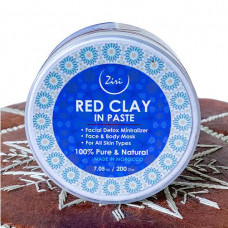 ziri skincare moroccan red clay