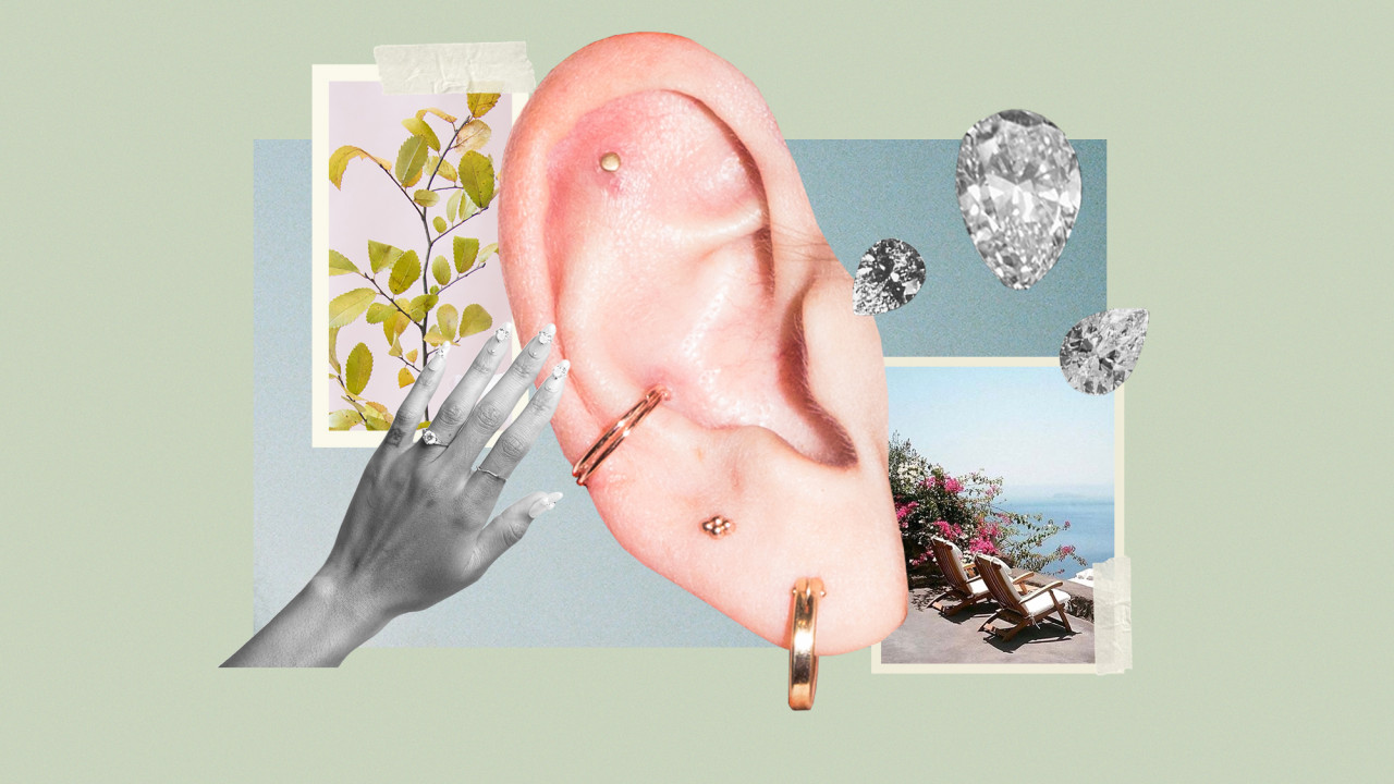 Ear Seeding Is Our New Go-To Wellness Routine