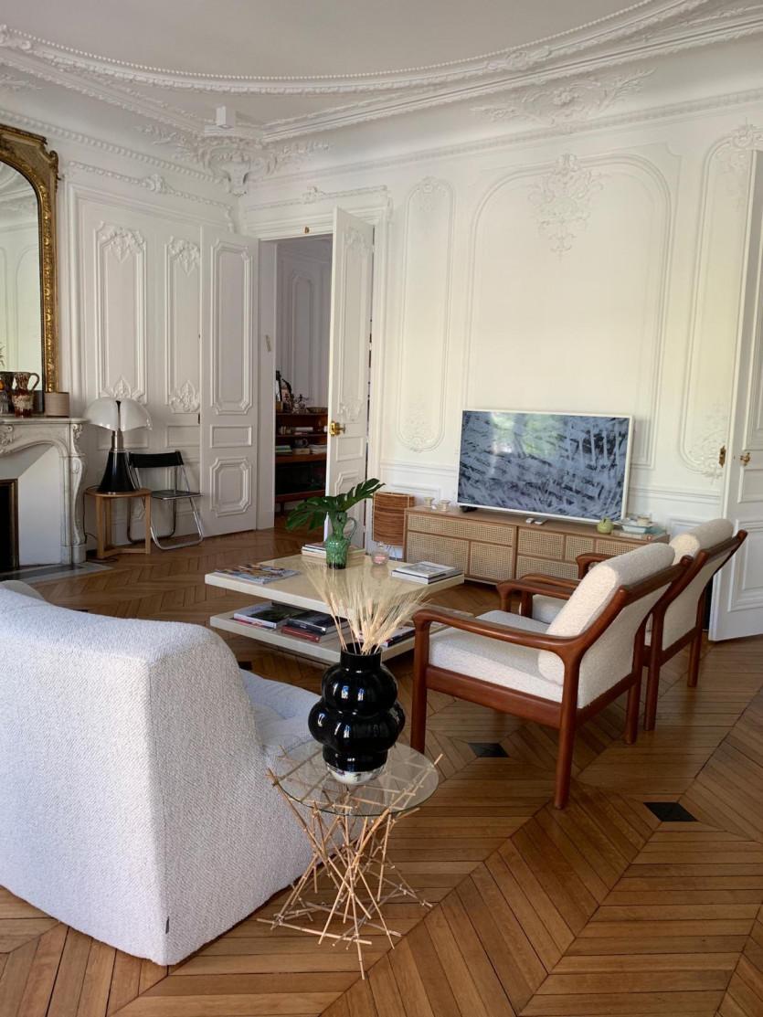 parisian-inspired apartment