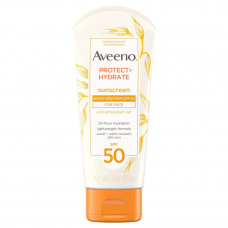 aveeno protect hydrate face sunscreen lotion with spf 50