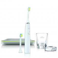 philips sonicare diamondclean rechargeable electric toothbrush white edition
