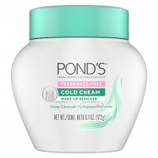 ponds fragrance free cold cream make up remover