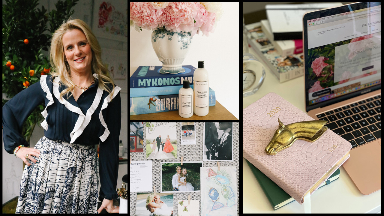 Working from Home with Laundress Co-founder Lindsey Boyd