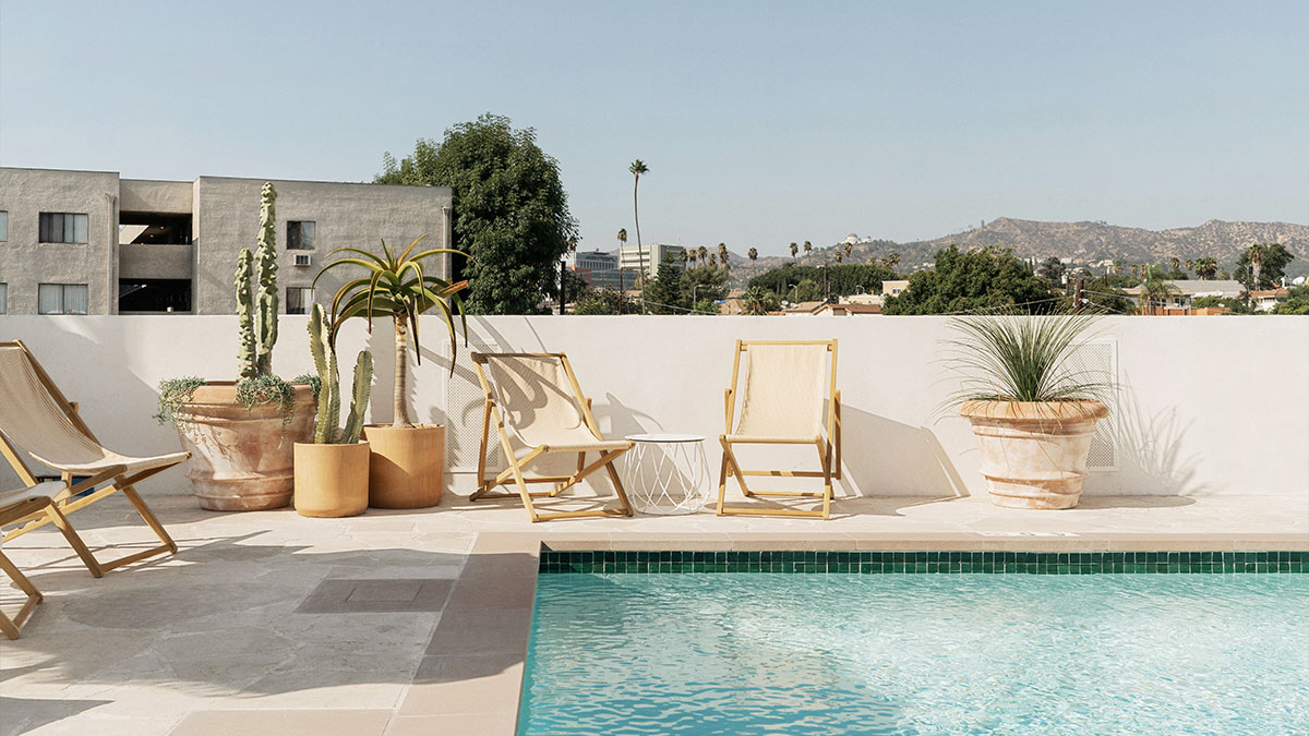 Take a Staycation at These Chic Los Angeles Hotels