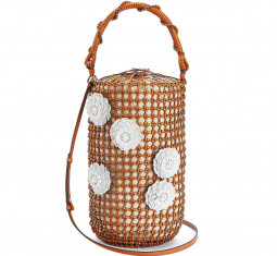 Flower Bucket Mesh Bag by Loewe
