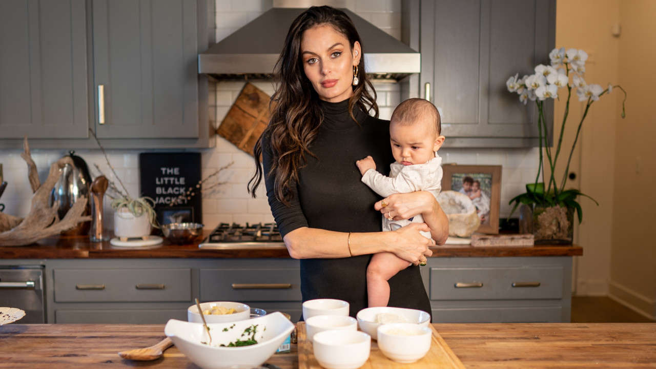 Cooking with Model and Erth Jewelry Founder Nicole Trunfio