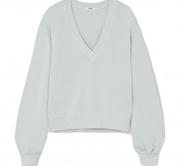 Cotton-jersey Sweatshirt by Agolde