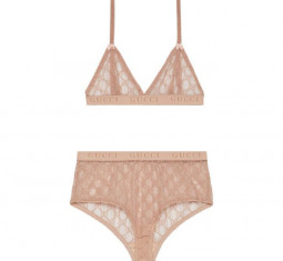 GG Tulle Lingerie Set by Gucci