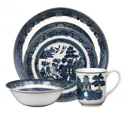 Willow 4 Piece Place Setting by Johnson Brothers